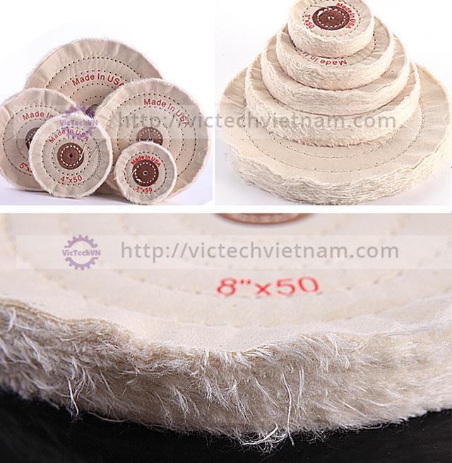 Bánh cotton đánh bóng