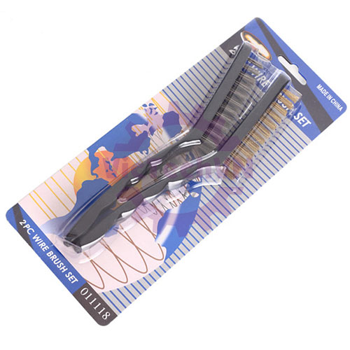 Bộ bàn chải đánh gỉ dây đồng / thép