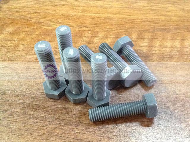 Bulong nhựa PVC M10x40