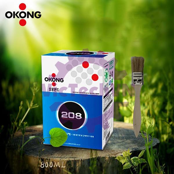 Keo dán cao su OKONG 208