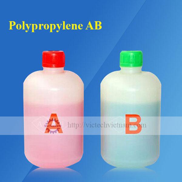 Keo polypropylene AB (xanh / đỏ)