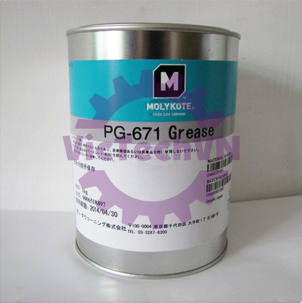 molykotepg671grease