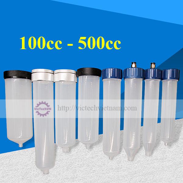 Ống tiêm nhựa 100cc - 500cc
