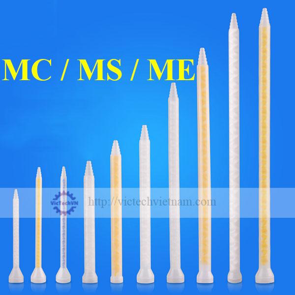 Ống trộn tĩnh MC/MS/ME