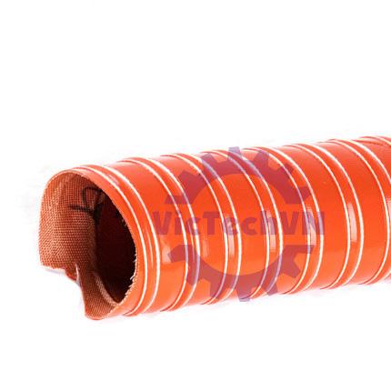 Ống gió Silicone sợi thủy tinh GJFG-01