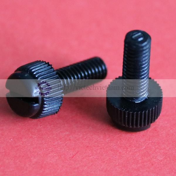 Bulong đầu tròn 1 rãnh nhựa PA66/PP/PVC/PC/PPS