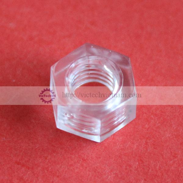 Đai ốc lục giác nhựa PC