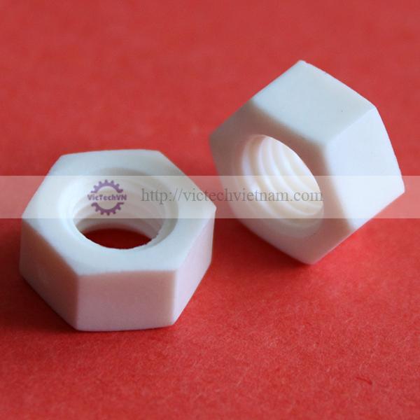 Đai ốc lục giác nhựa PP
