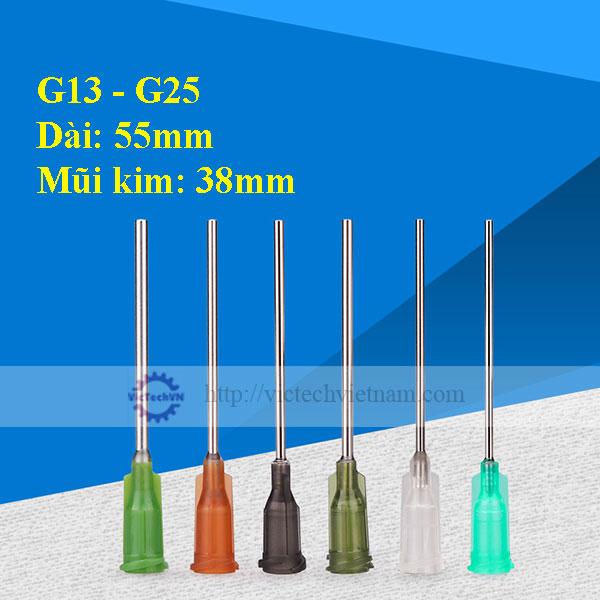 Kim bơm keo 55mm G13 - G25