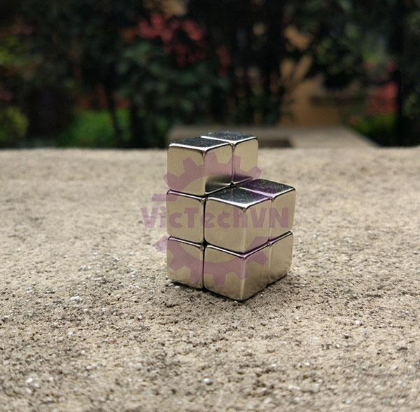 Nam châm vuông 10 x 10 x 10