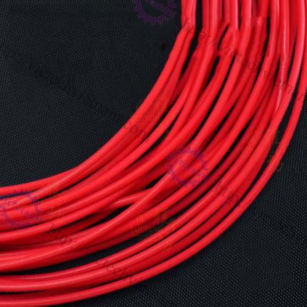 Ống cao su chịu nhiệt Teflon màu đỏ