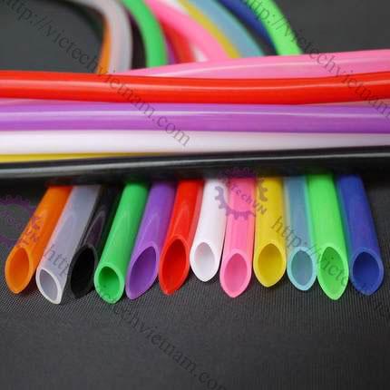 Ống nhựa màu silicon
